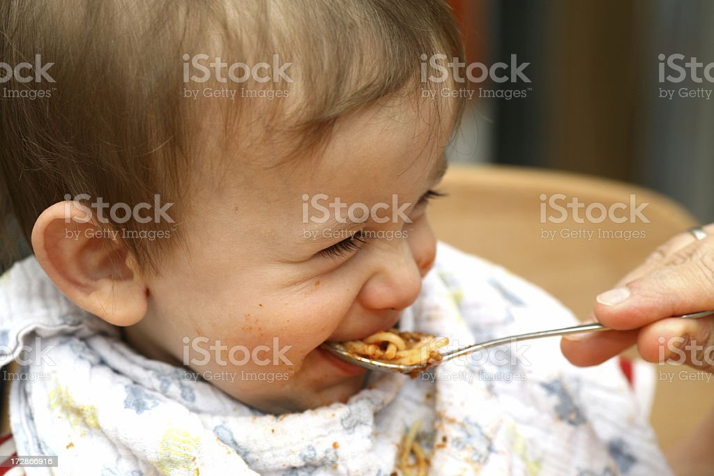 Eating time royalty-free stock photo