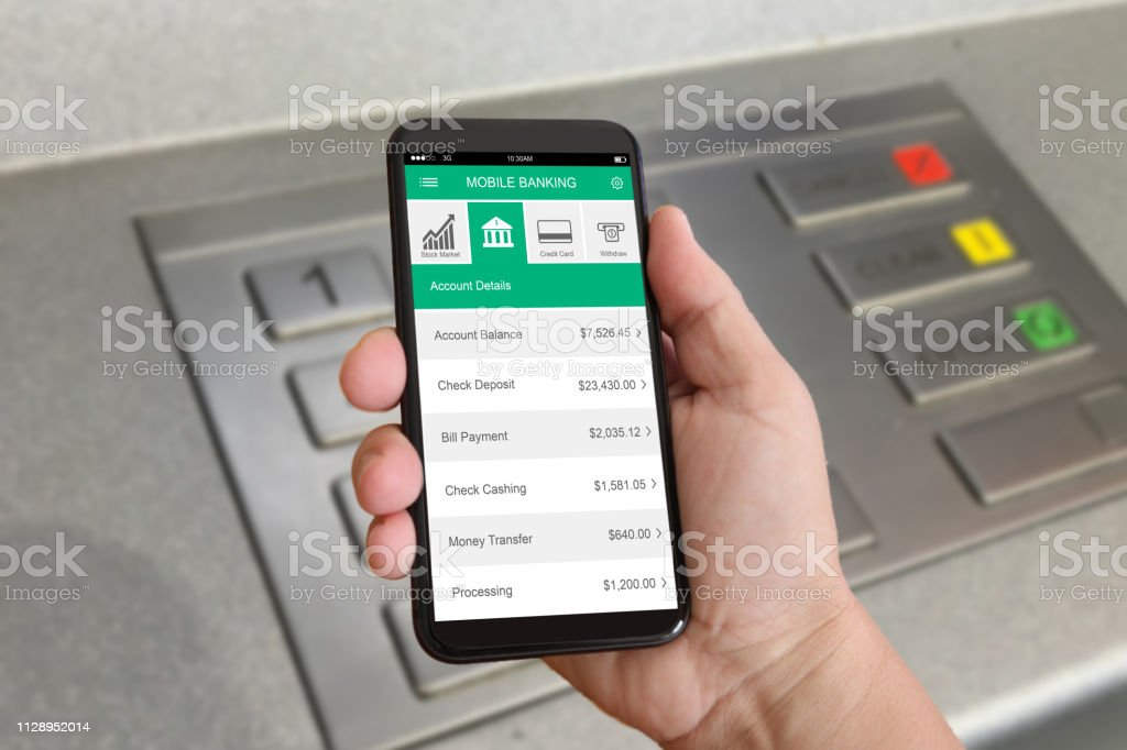 E-banking online electronic banking mobile phone