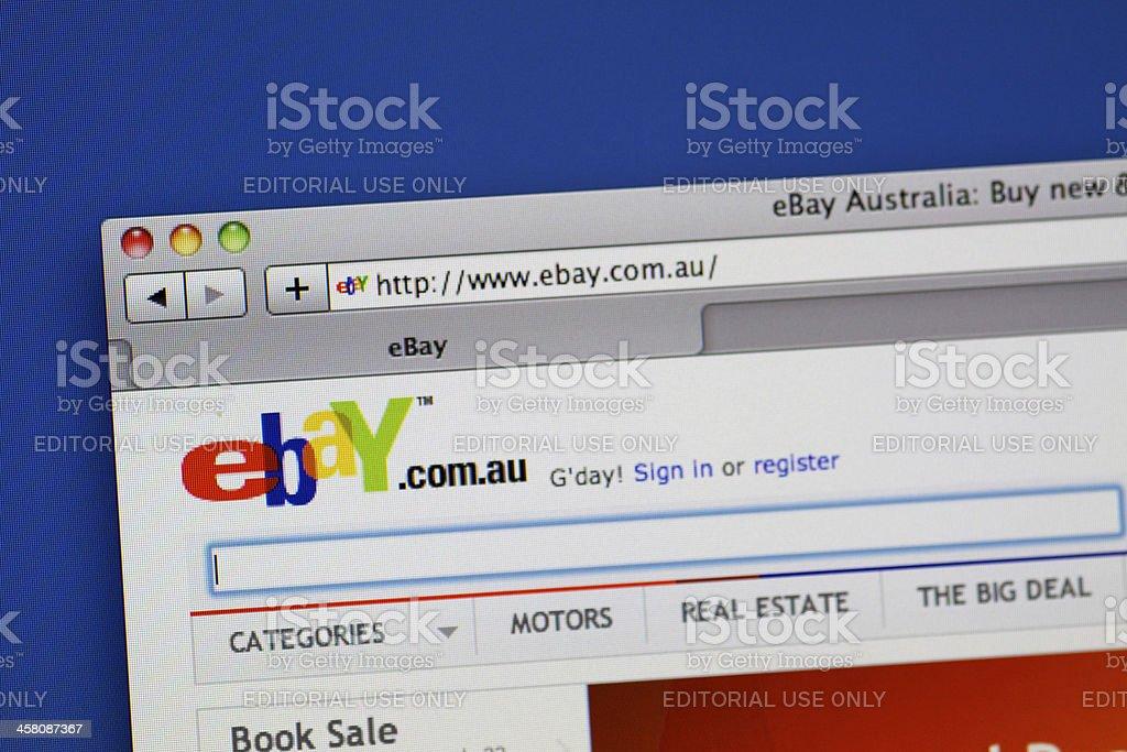 Ebay Australia Website Stock Photo Download Image Now Istock