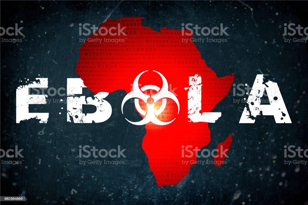 Ebola Ebola outbreak in Africa. Africa Stock Photo