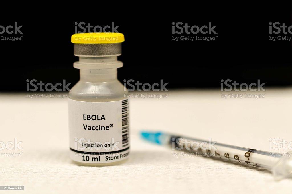 Ebola Vaccino - foto stock