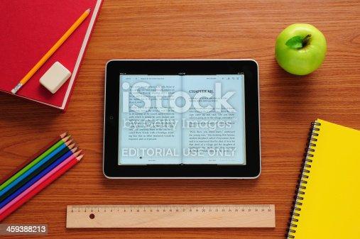 istock E-book in school 459388213
