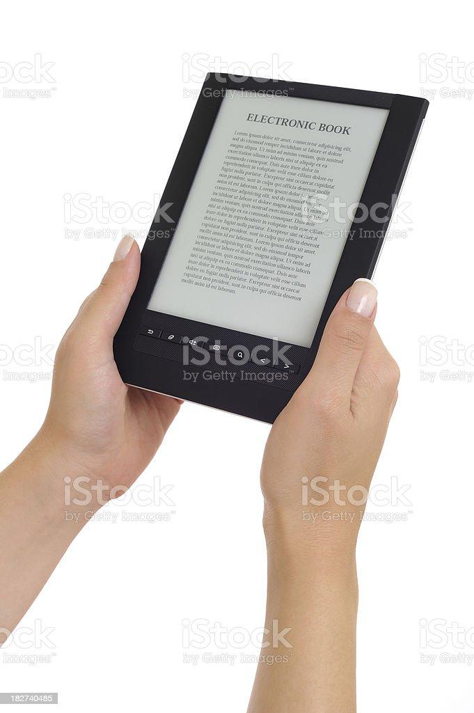 e-book royalty-free stock photo