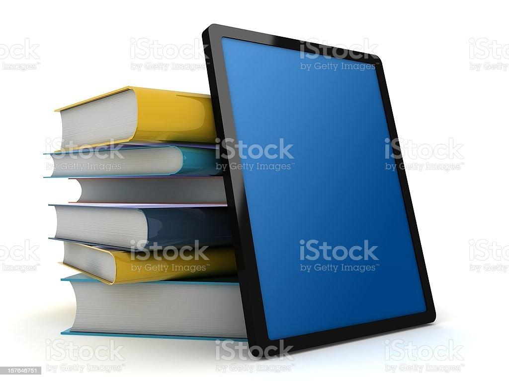 E-Book Reader  Book Stock Photo