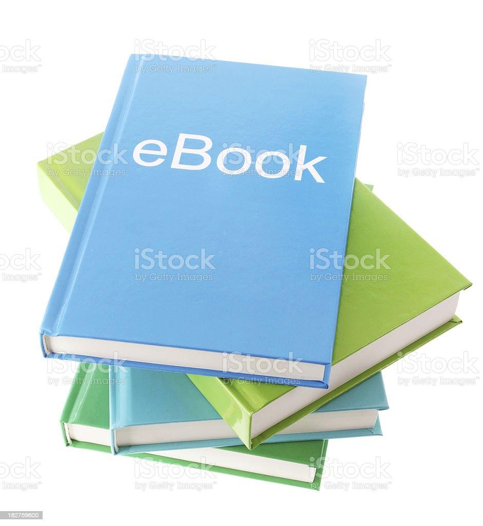 eBooks royalty-free stock photo