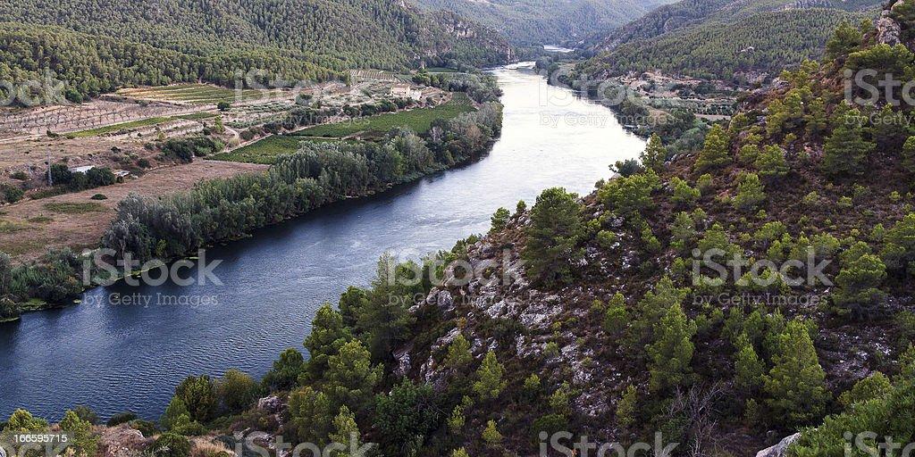 Ebro river royalty-free stock photo