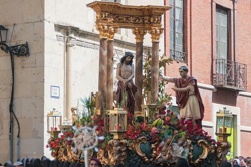 Ecce Homo. Procession Holy Friday. Leon, Spain.