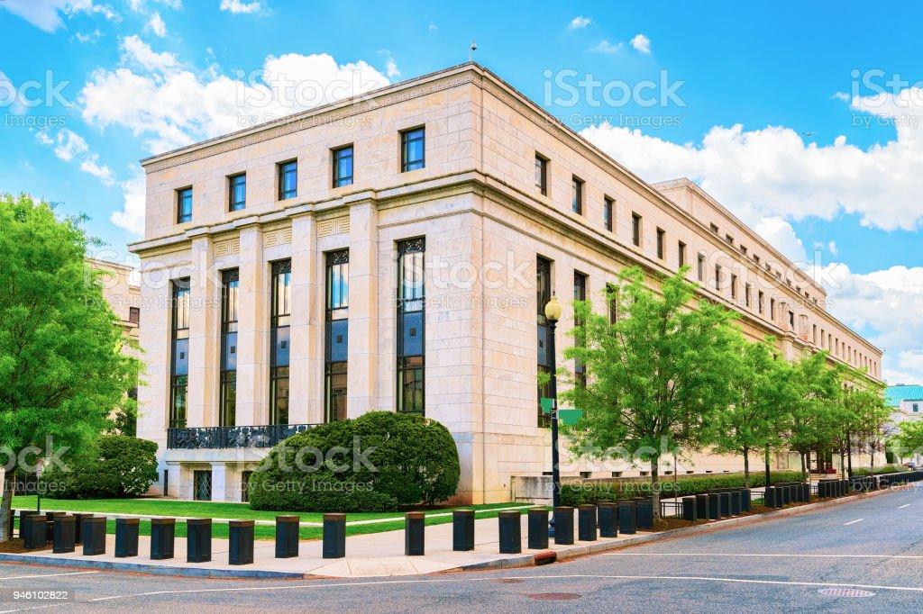 ワシントン Dc のエクルズ 連邦準備制度理事会ビル - アメリカ合衆国の ...