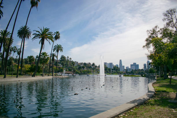 echo park - répétition photos et images de collection