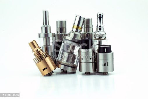 istock E-cigarette heads isolated on white 511810376