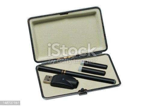 177005367 istock photo E-cigarette in case 148737151