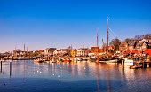 istock Eckernförde - Old harbour and waterfront 517233258