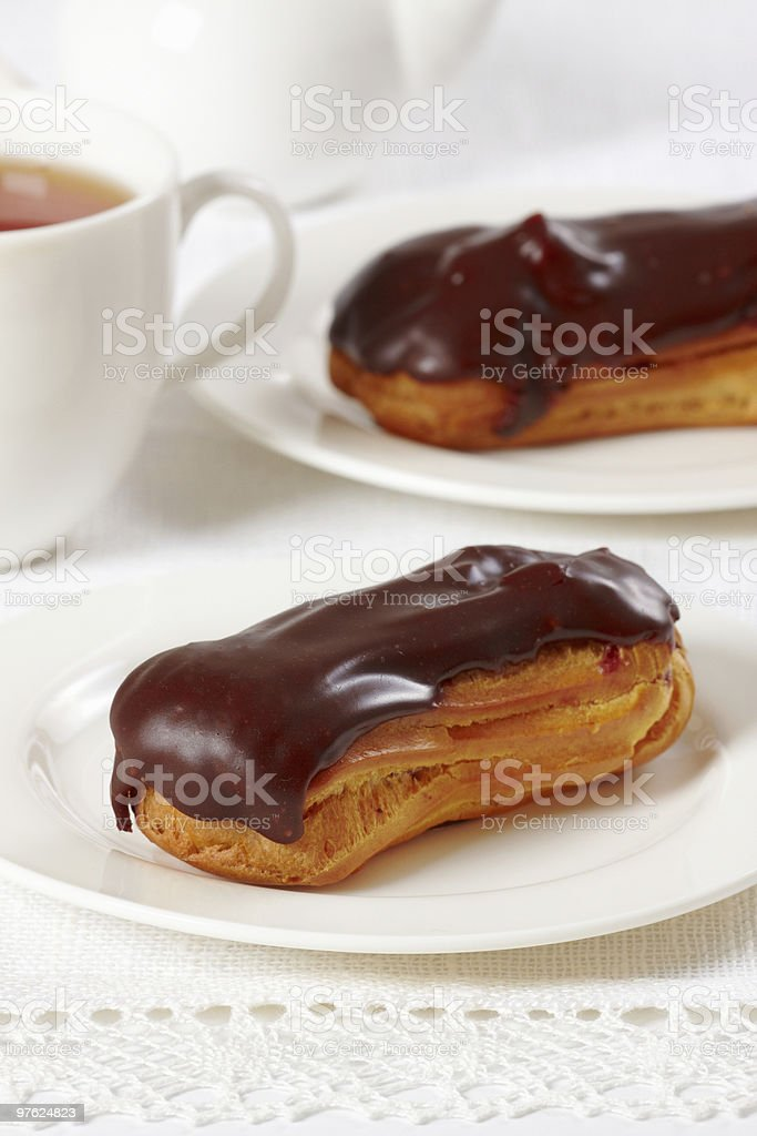 eclairs royalty-free stock photo