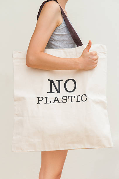 eco bag - environmental consciousness stock pictures, royalty-free photos & images