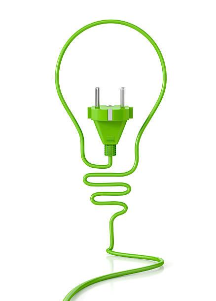Eco bulb concept stock photo