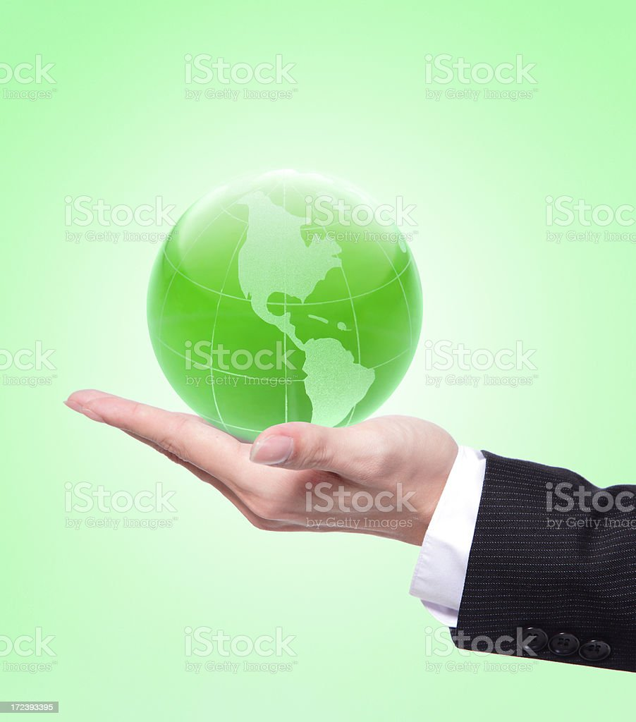 eco concept royalty-free stock photo