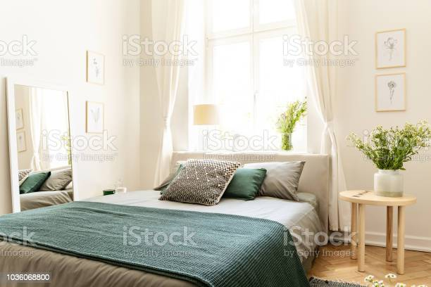 Eco cotton linen and blanket on a bed in nature loving family for picture id1036068800?b=1&k=6&m=1036068800&s=612x612&h=vv9swobyzwpcjzaf2qj7unhdxnrlos4nvr wolrw8iq=