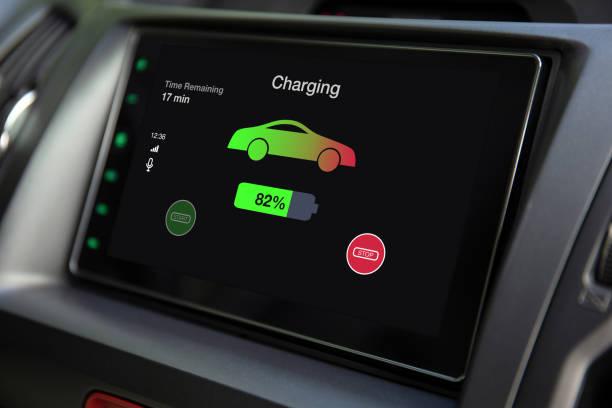 Eco Elektroauto Touch Multimedia-System mit Ladebatterie – Foto