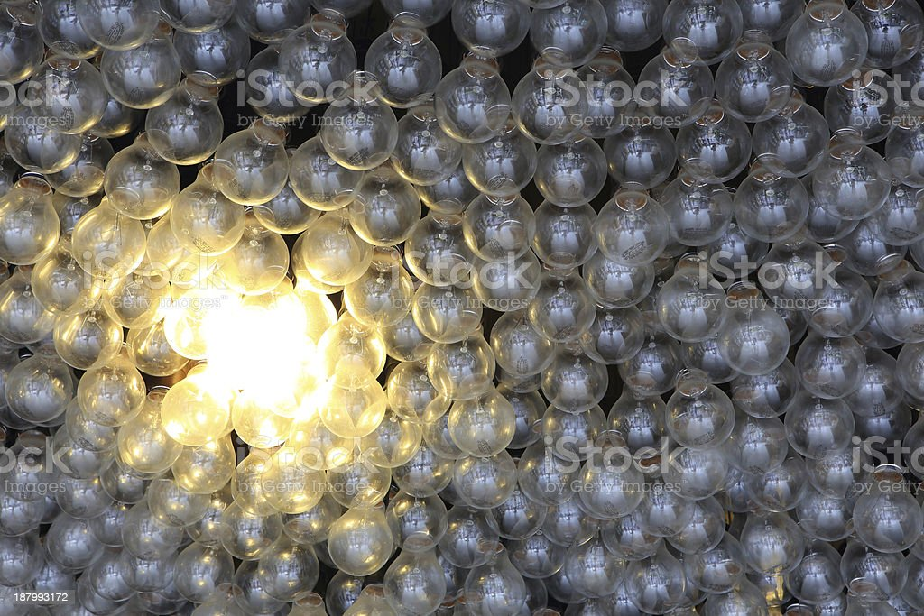 Energiesparende Eco-Glühbirne – Foto