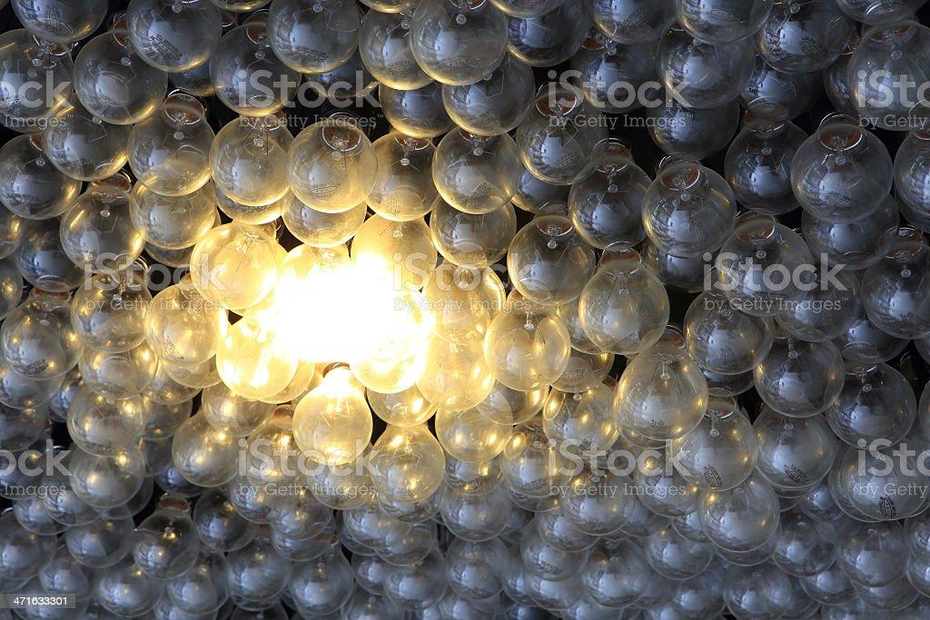 Eco energy saving light bulb royalty-free stock photo