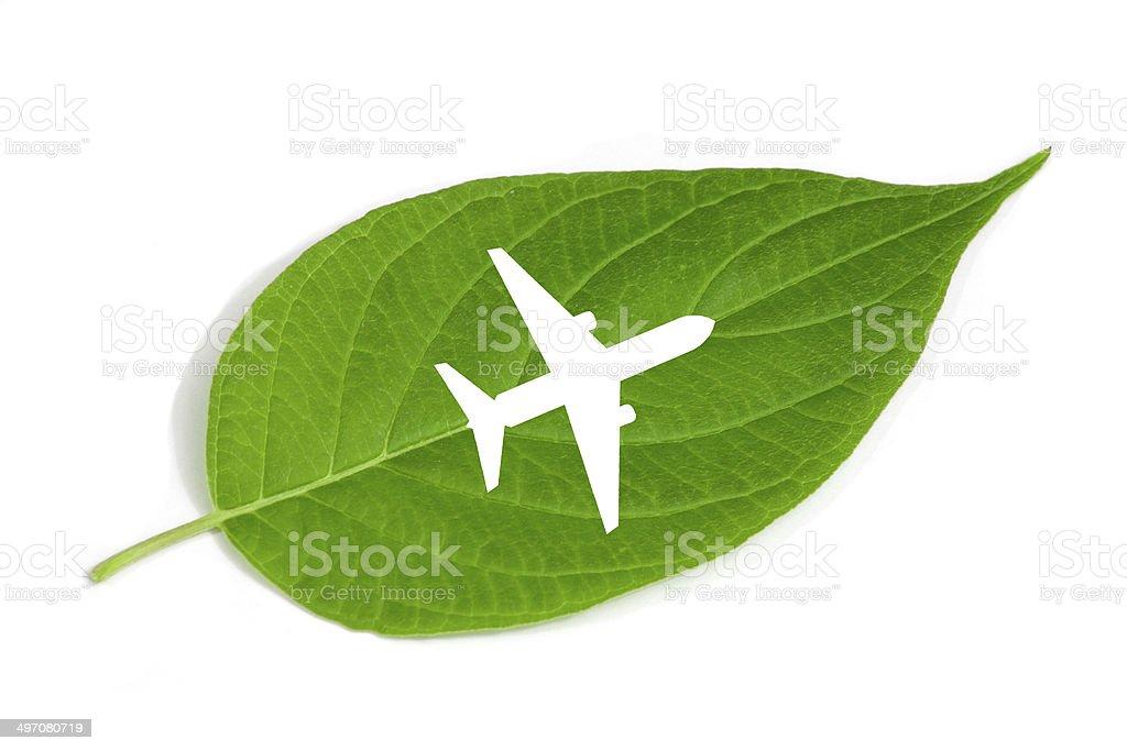 Eco flying stock photo