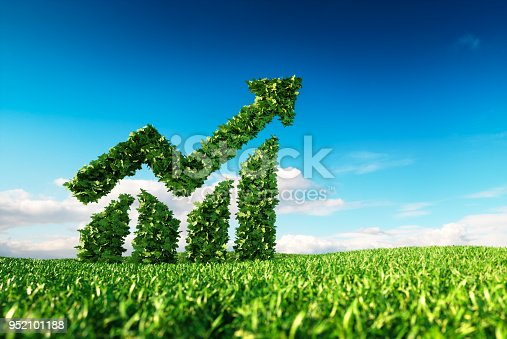 istock Eco friendly sustainable growth concept. 952101188
