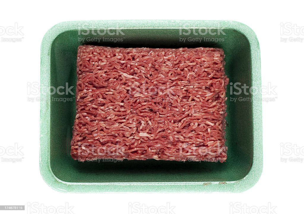 Eco Ground beef royalty-free stock photo