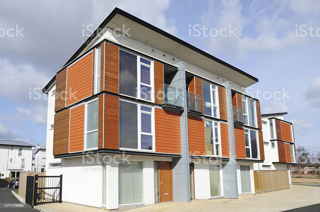 Eco Housing royalty-free stock photo