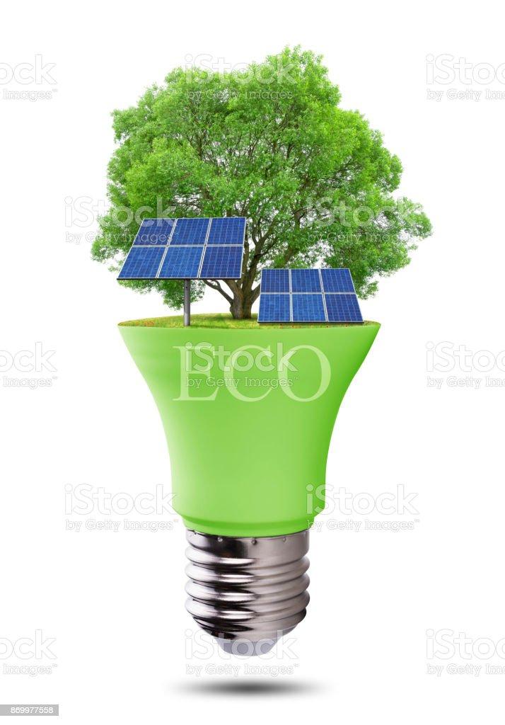 Solaires Panneaux Photo Ampoule Avec Eco Stock Isolés Led De 76mYfgyIvb
