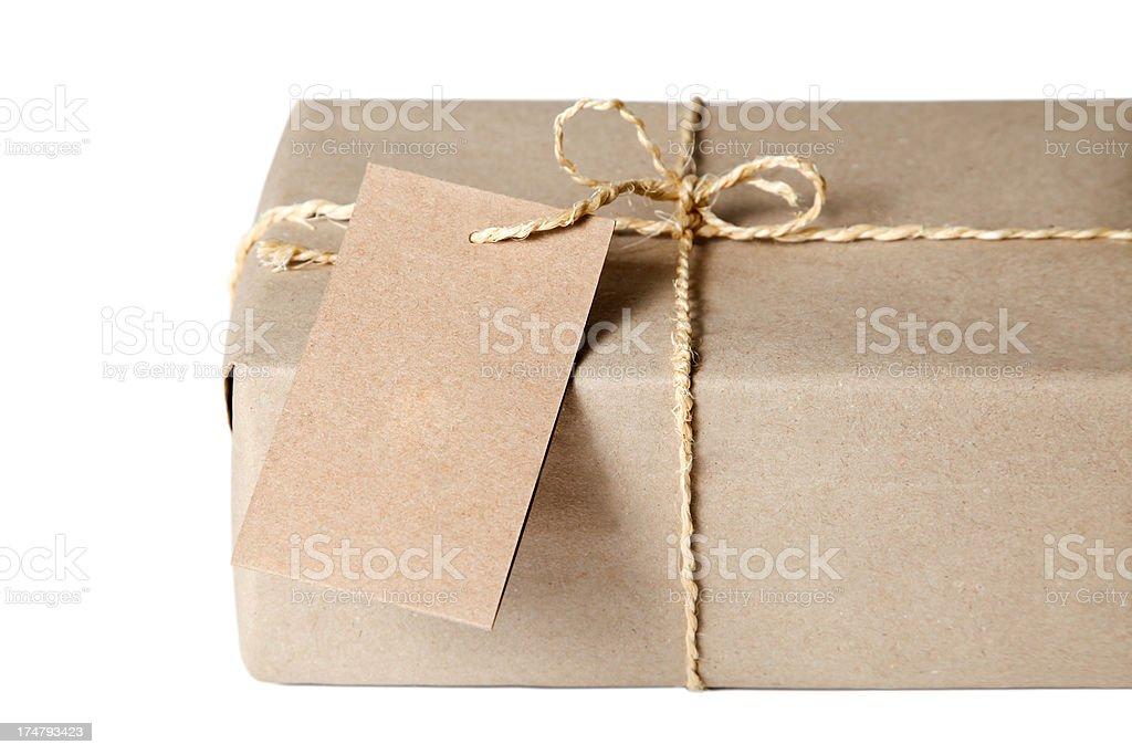 Eco Package royalty-free stock photo
