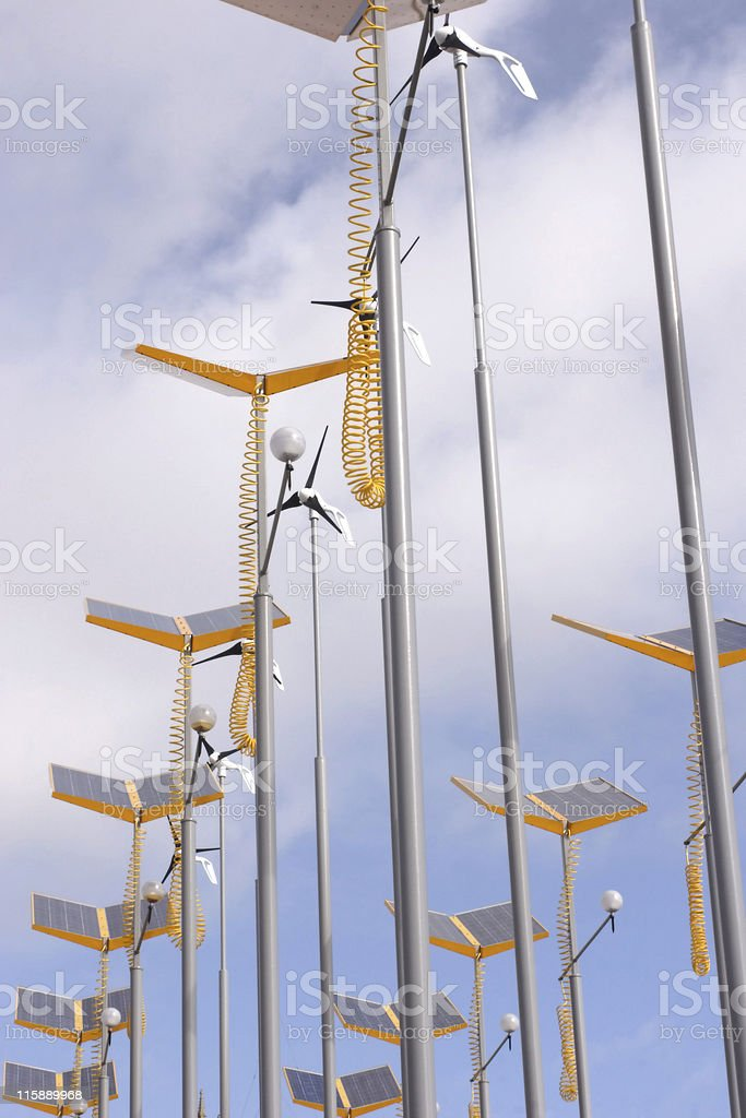eco power royalty-free stock photo