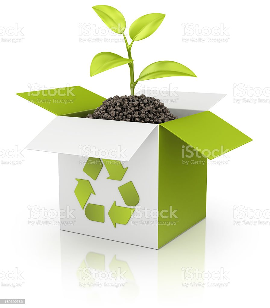 eco, recycling-box – Foto