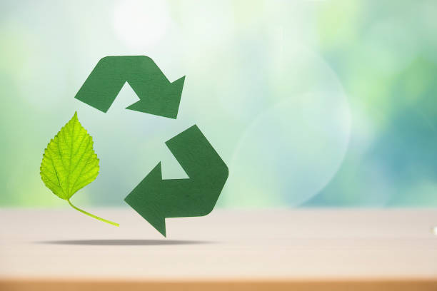 Eco Recycling. - foto stock