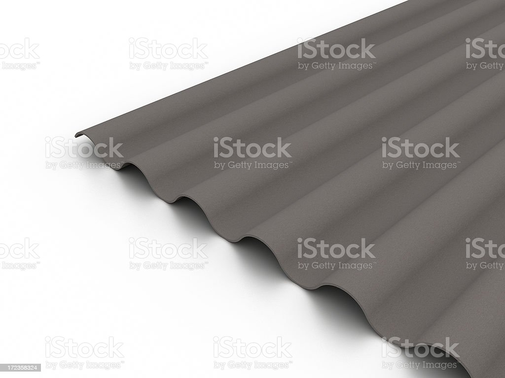 Eco Roof royalty-free stock photo
