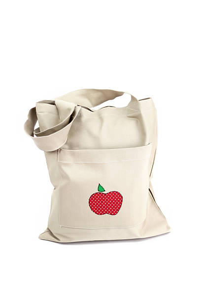 Eco shopping bag stock photo