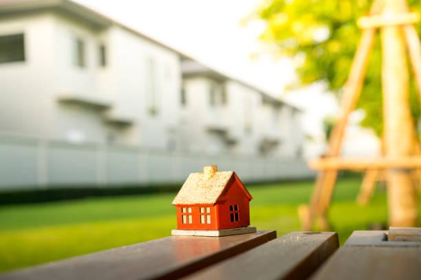Kleine Haus & Wohnsiedlung Konzept Eco – Foto