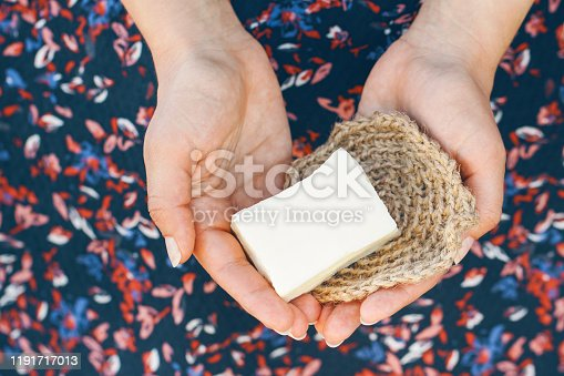 1168256931 istock photo Eco-friendly cleaning kit in the woman's hand 1191717013