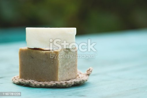 1168256931 istock photo Eco-friendly cleaning kit on the wooden background 1167781225