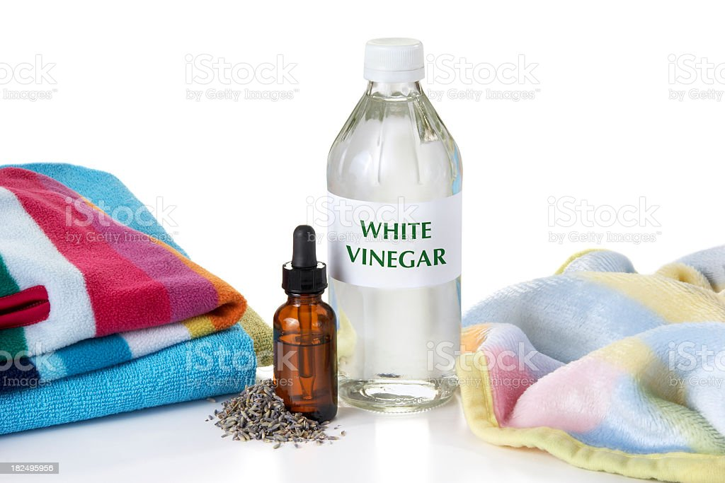 Eco-Friendly Fabric Softener stock photo