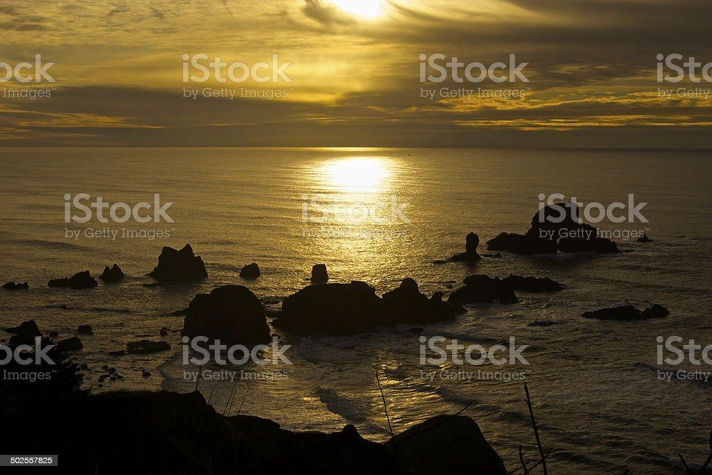 Ecola State Park stock photo