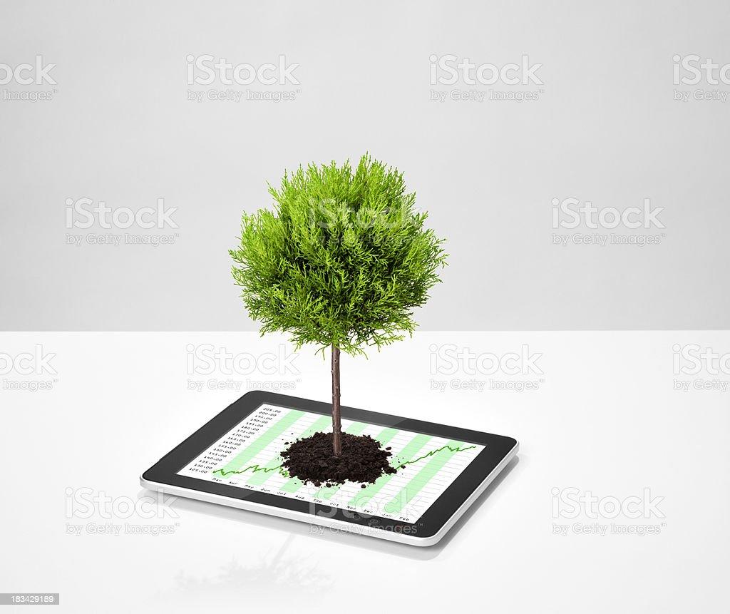 Ecologic Business royalty-free stock photo