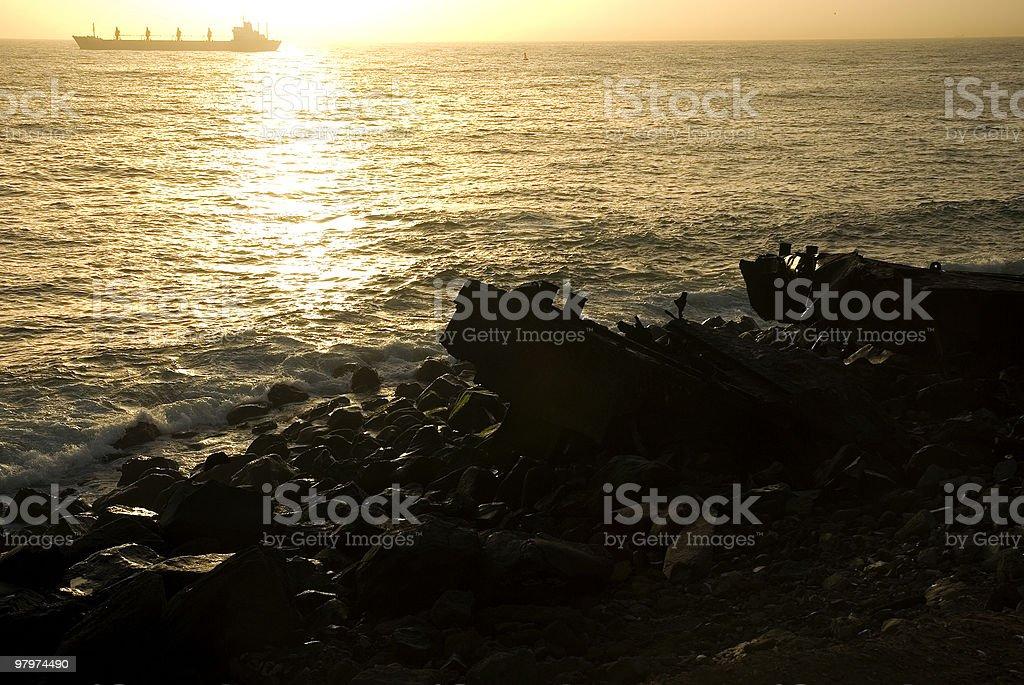Ecologic disaster royalty-free stock photo