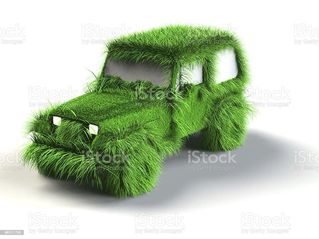 Ecologic verde auto foto stock royalty-free