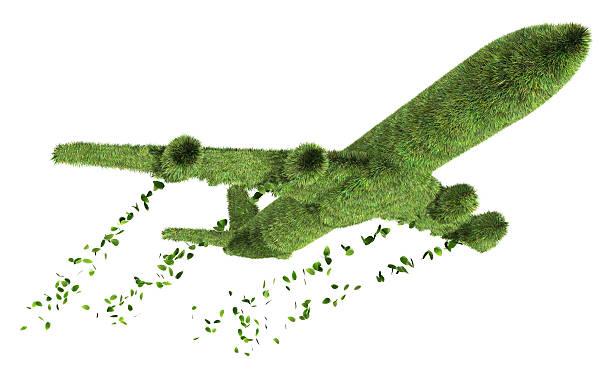 ecologia conceito de viagem aérea - exhaust white background imagens e fotografias de stock
