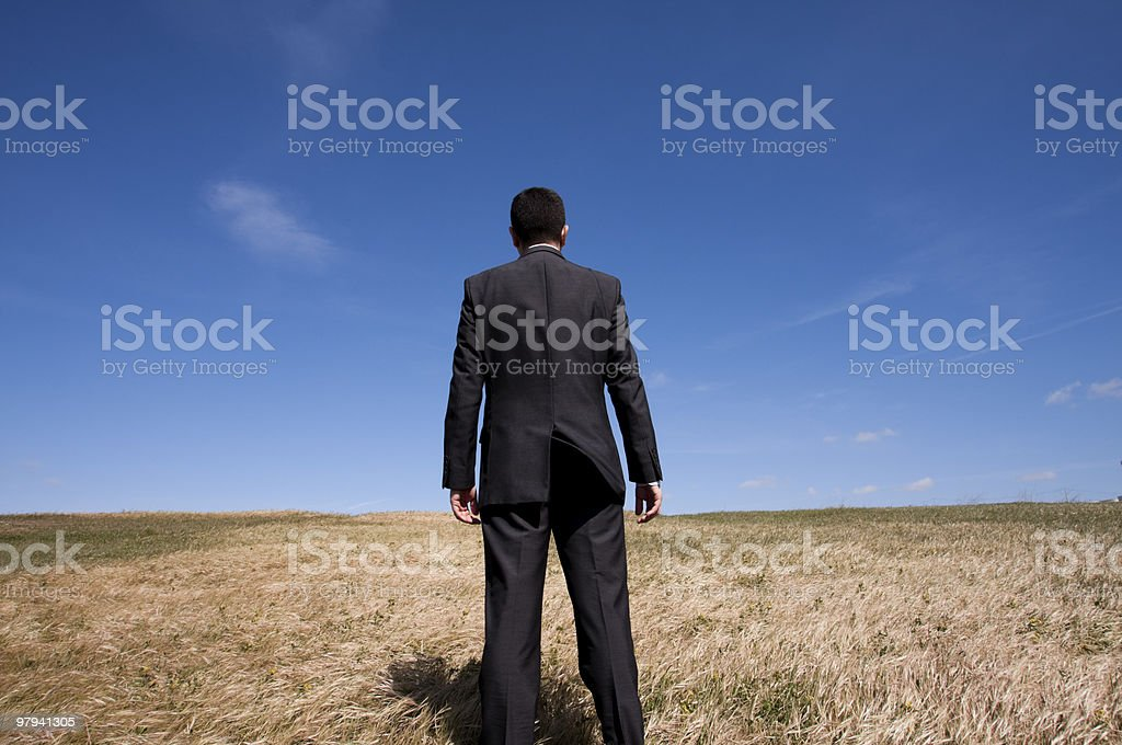 Ecological business royalty-free stock photo