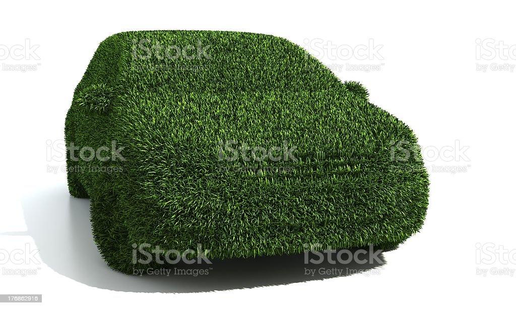 ecological car stock photo