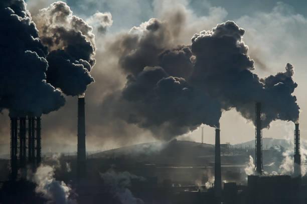la catastrofia ecológica - contaminación ambiental fotografías e imágenes de stock