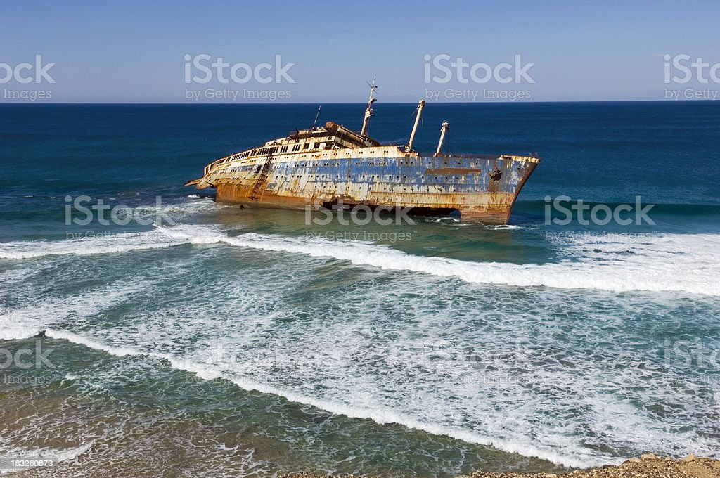 Ecological disaster stock photo
