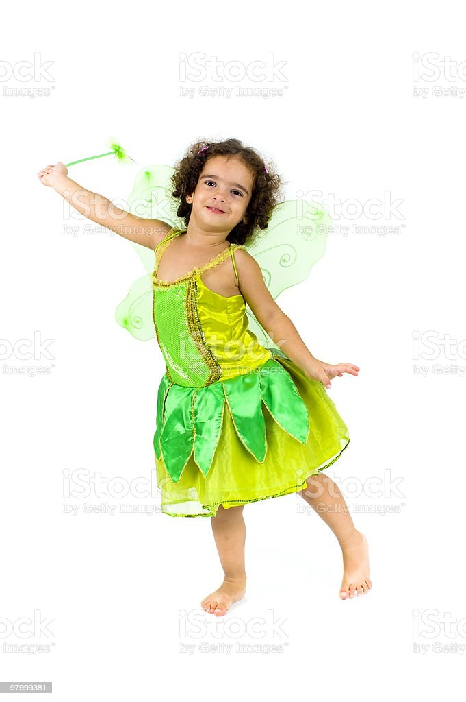 Ecological Fairy royalty-free stock photo