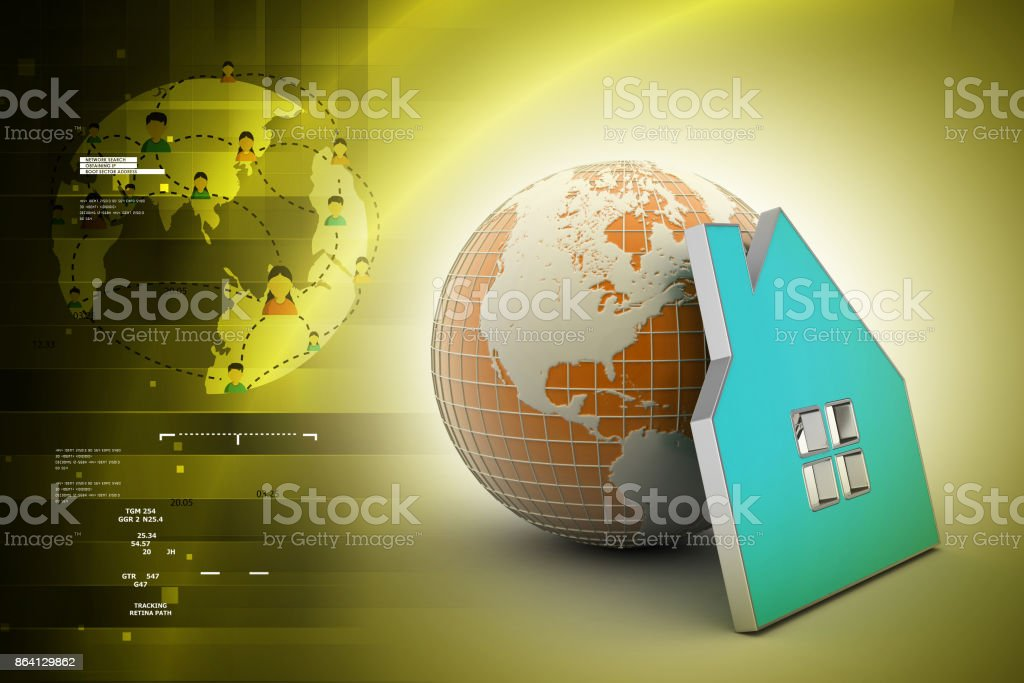 Ecological safety concept royalty-free stock photo